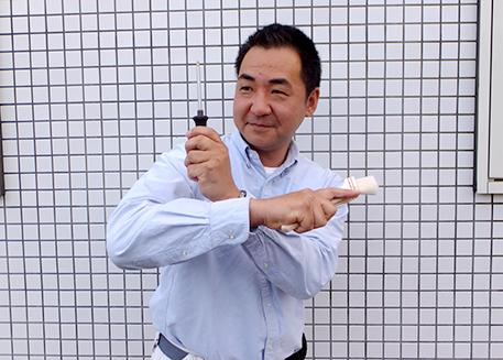 メンテナンス係長松本 伯夫